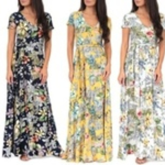 Rags and Couture Dresses & Skirts - NEW 1X FLORAL ON BLACK BY RAGS & COUTURE
